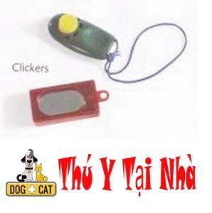 clicker cho chó