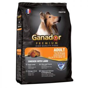 thức ăn hạt cho chó ganador