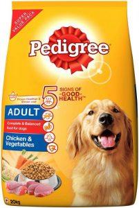 thức ăn hạt khô cho chó pedigree